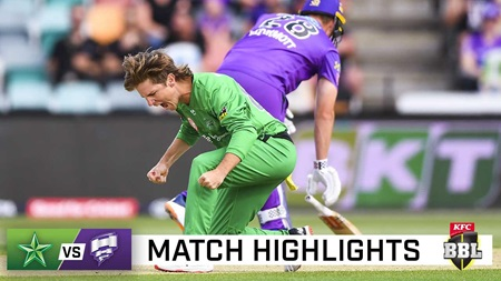 Stoinis sixes, Spiceman screamers see Stars home