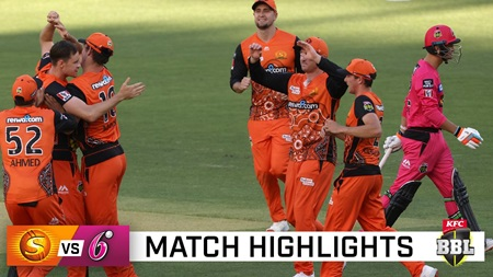 Sixers scorched as Marsh, Tye lead Perth rout