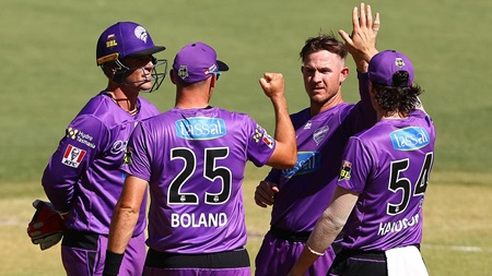 Short stands tall with three wickets for the Hurricanes
