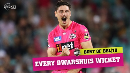 Every wicket: Dwarshuis does it again in Sixers' super season
