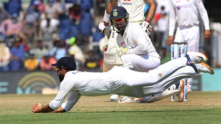 Stunning fielding helps India rout England in Chennai