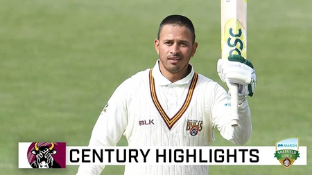 Fourth-innings century for captain Khawaja