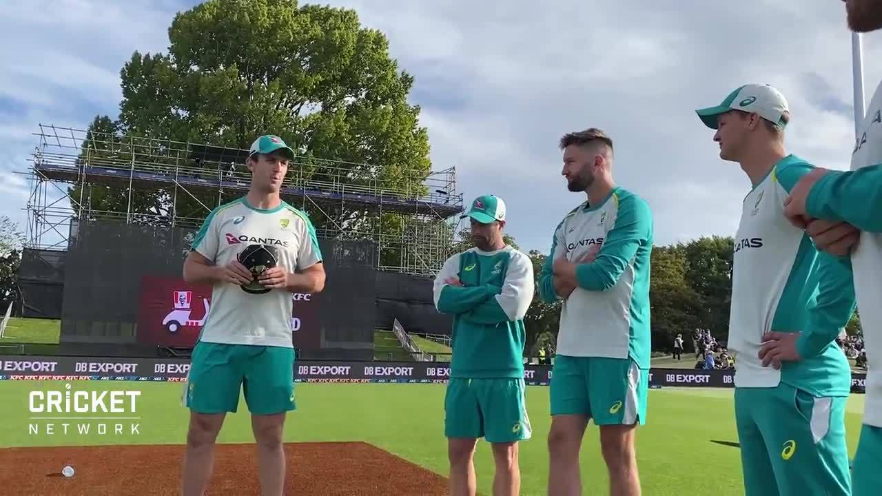 Philippe receives T20I cap from Marsh