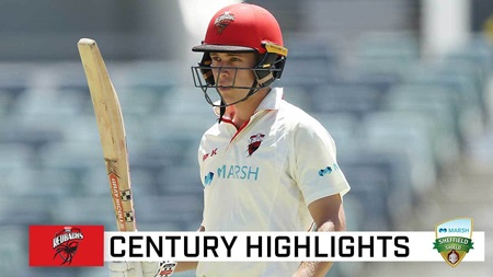 Patient Hunt snares a second Shield century