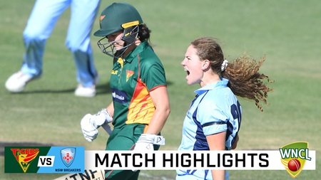 Tasmania, NSW thriller finishes with scores tied