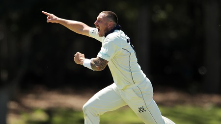 Victoria's Pattinson fires up for four wickets
