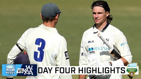 Blues denied by Handscomb ton on final day