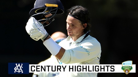 Handscomb drops anchor in match-saving century