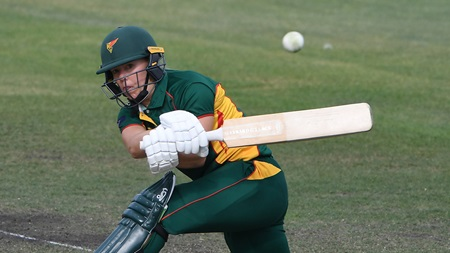 Stalenberg accelerates for quickfire fifty to lift Tasmania
