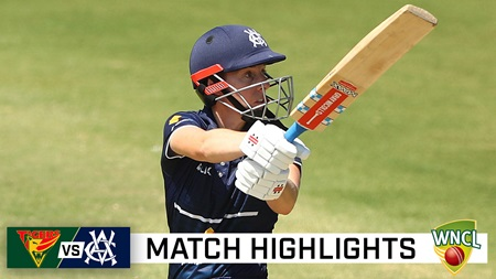 Villani's unbeaten ton helps Vics win top-of-the-table clash
