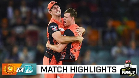 Perth powers into BBL Final with crushing win over Heat