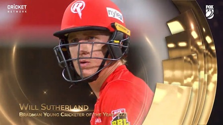 Bradman Young Cricketer 2021: Will Sutherland