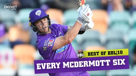 Every six: McDermott goes large in big campaign