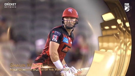 Male Domestic Player of the Year 2021: Shaun Marsh