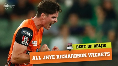 Every wicket: Richardson tops BBL|10 wicket-taking charts