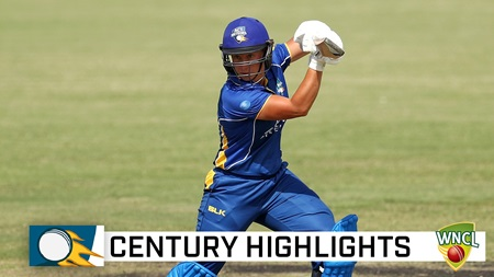 Penna's potential realised with maiden WNCL hundred