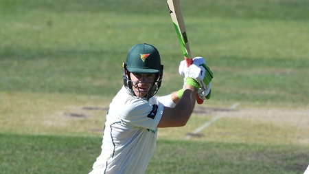 Paine half-century props up Tasmania in Shield