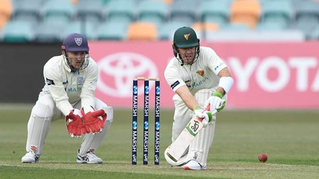 Tim's Paine as Shield innings ends on 87, again