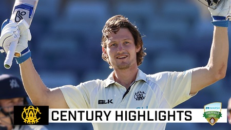 Bancroft defies Vics for third ton of Shield season