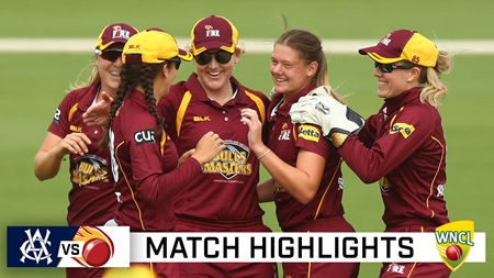 Champions! Queensland surge to maiden WNCL title