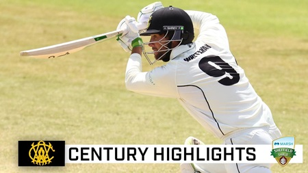 Whiteman's fine hundred helps WA build massive lead