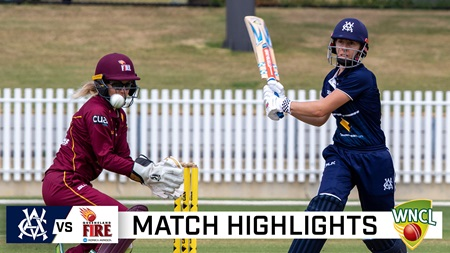 Villani's hot streak extends as Vics douse Fire