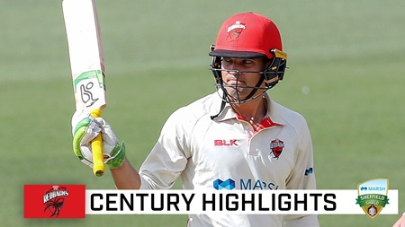 Carey cracks Shield ton against strong NSW attack