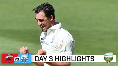 All results possible after NSW declaration, Starc strikes