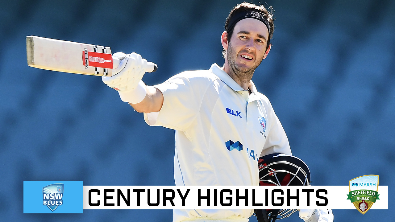 Patterson ends two-year wait for a Shield century