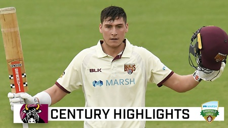 Middle-order man Renshaw cracks Shield ton