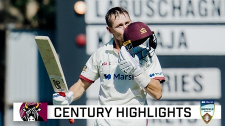 Labuschagne goes large in Shield final epic