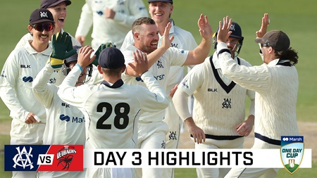 Vics surge back into contest after Harper ton