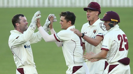 Four wickets for Swepson in impressive display