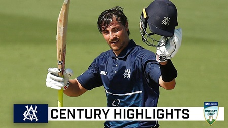 Magnificent Merlo hits memorable maiden ton