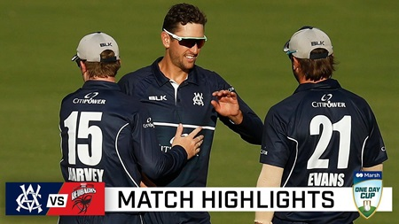 Young Vics end domestic season with win over SA