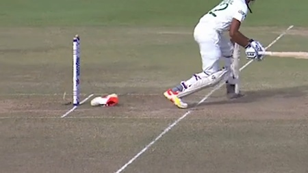 Shoeless tail-ender foots the bill in bizarre dismissal
