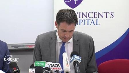 James Sutherland speaks of Hughes tragedy