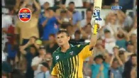 Re-live Adam Gilchrist's first ODI ton