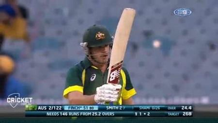 Finch knock has Australia on top