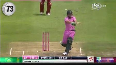 AB de Villiers' incredible hitting