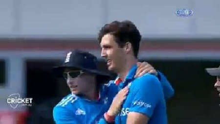Finn takes five wickets to help rout India