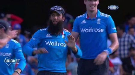 Moeen takes one of the best catches ever?