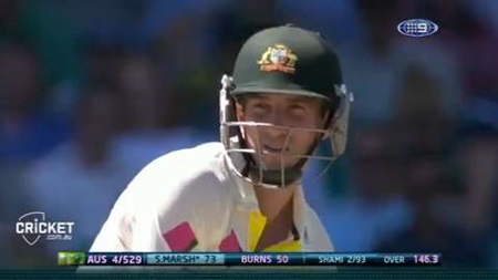 Fourth Test, day two, second session highlights