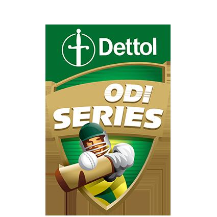 Dettol ODIs v New Zealand logo
