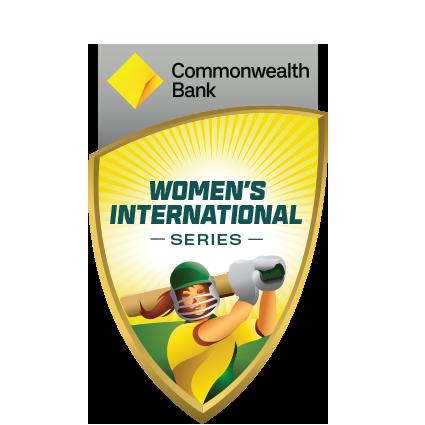 CommBank Women's Series v India logo