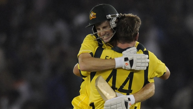 Adam Voges and James Faulkner