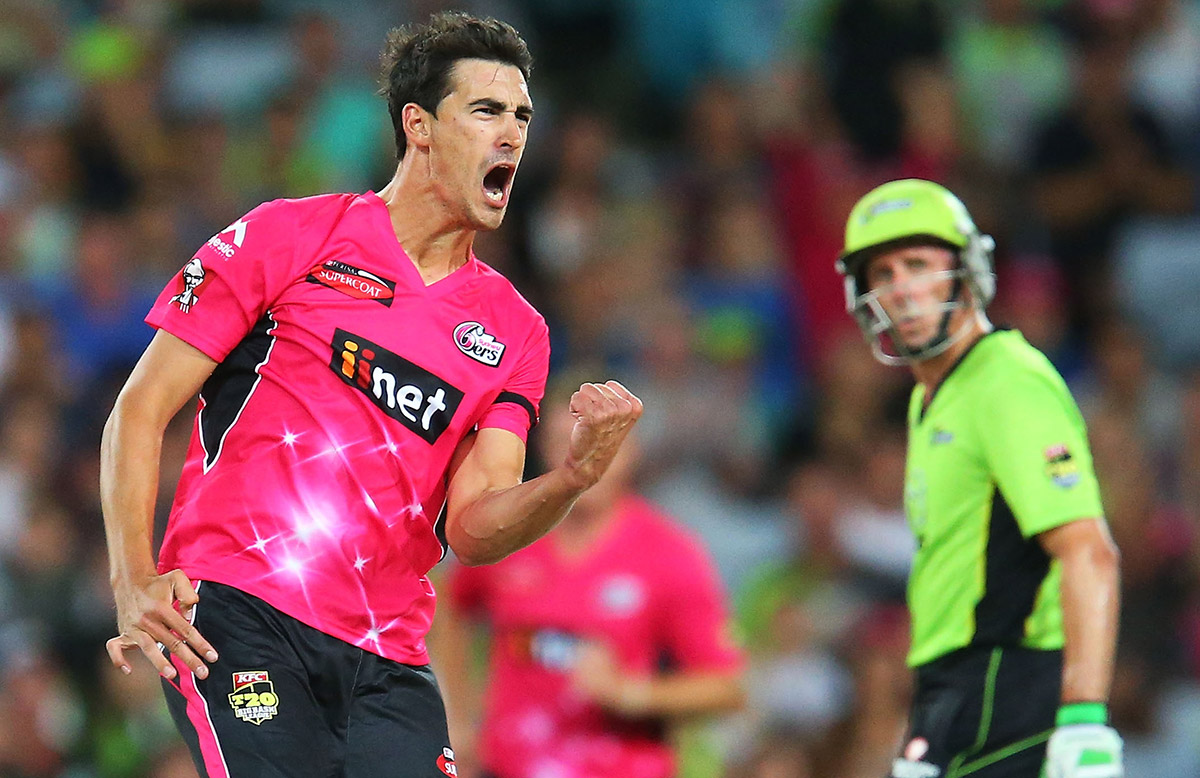 Starc impresses during the BBL // Getty Images