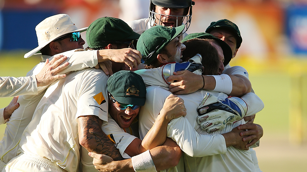 Aussies win