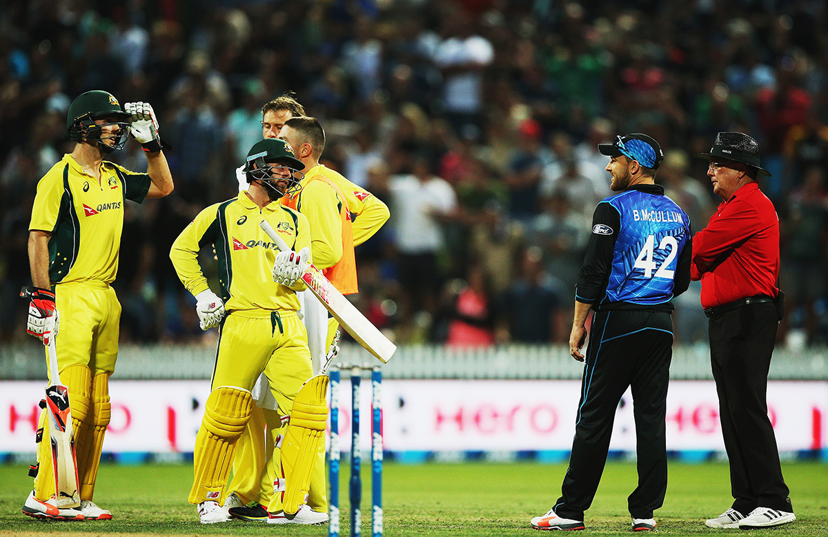 Umpire controversy with Mitch Marsh