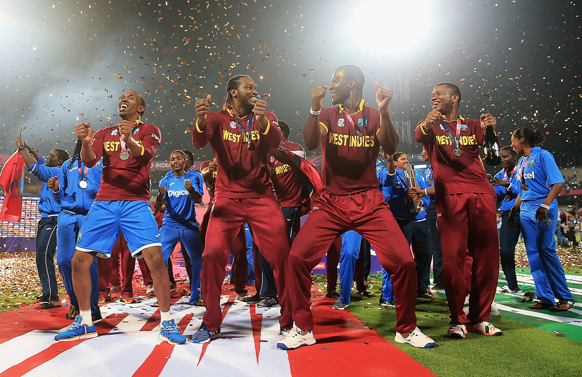 Windies party